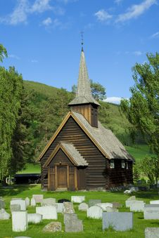 Free Wood Church Royalty Free Stock Photo - 4835475