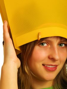 Free Bag-hat Royalty Free Stock Image - 4835576