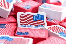 Free God Bless America Stock Photography - 4836472
