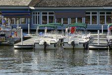 Free Small Boat Harbor Royalty Free Stock Photo - 4837045