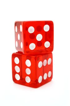 Tricky Dice Royalty Free Stock Photography