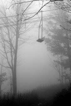 Free Lonely Cable Car Royalty Free Stock Images - 4837409