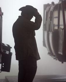 Free Gondola Operator Stock Image - 4837431