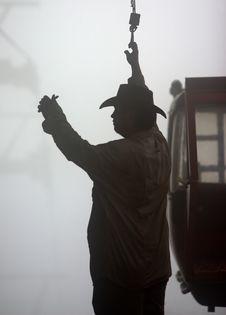 Free Gondola Operator Stock Photography - 4837432