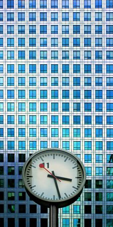 Free Clock And Facade Stock Photo - 4837440