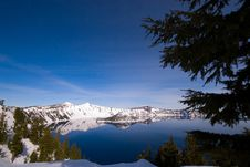 Free Crater Lake Royalty Free Stock Photography - 4838757