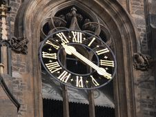 Free Turrect Clock Stock Image - 4839301