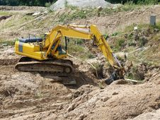 Free Excavator Stock Photos - 4839333