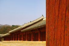 Korean Traditional Architecture Royalty Free Stock Images