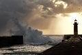 Free Lighthouse At Sunset Stock Photos - 48353963
