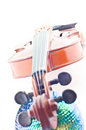 Free Violin And Disco Ball Stock Image - 4845691