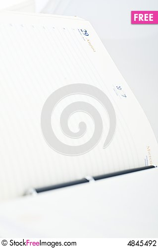 Free Book And Pen Stock Photography - 4845492