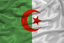 Free Algeria Flag Royalty Free Stock Photography - 4840007