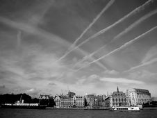 Free View Of London And Thames Royalty Free Stock Image - 4840796