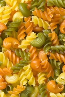 Free Coloured Pasta, Background Royalty Free Stock Images - 4841069