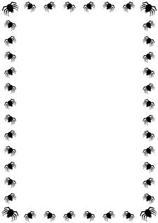 Free Halloween Spider Border Stock Photos - 4841243