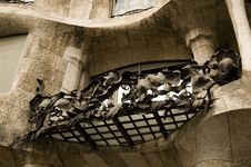 Free La Padrera (antonio Gaudi) Royalty Free Stock Photos - 4842088