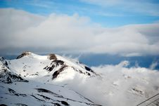 Free Moutain Peaks At Pyrenees Stock Image - 4842591