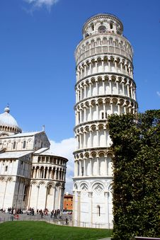 Free Leaning Tower Of Pisa Stock Photography - 4843422