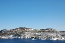 Free Norwegian Coast In Winter Royalty Free Stock Photo - 4843635
