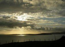Scottish Sunset Royalty Free Stock Images