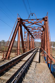 Free Railroad Bridge Stock Photos - 4843973