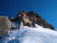 Free Mont Blanc Climbing Stock Photos - 4844003