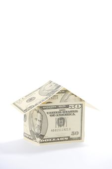 Free Money House Stock Image - 4844051