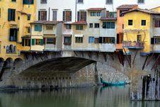 Free Houses On River Arno Royalty Free Stock Photos - 4844368