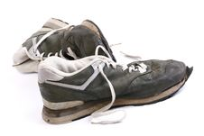 Free Old Grungy Running Shoes Stock Photos - 4844973