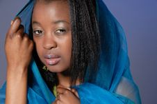 Free Attractive Young African Girl Stock Photos - 4845053
