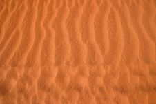 Free Red Sand Pattern Stock Photo - 4845560