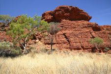 Free Watarrka National Park Stock Image - 4845681