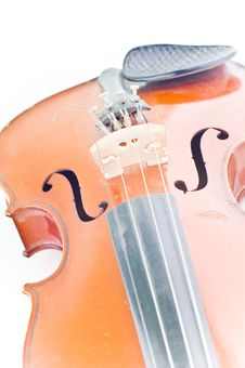Free Violin Details Royalty Free Stock Photography - 4845697