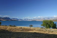 Beautiful Lake Tekapo Royalty Free Stock Image