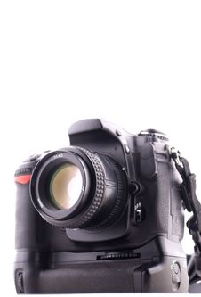 Free Professional Digital Camera Royalty Free Stock Photo - 4846145