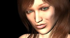 Free Female Portrait Cgi Stock Photo - 4847310