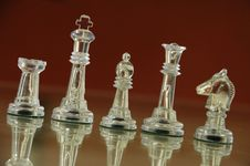 Free Cristal Chess Royalty Free Stock Photography - 4847657