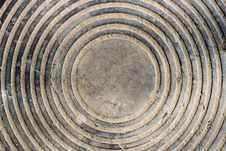 Free Cost-iron Manhole Royalty Free Stock Image - 4847746