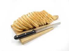 Free Bread And Knife Royalty Free Stock Images - 4847809