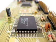Free Integrated Circuit Processor Stock Image - 4848081