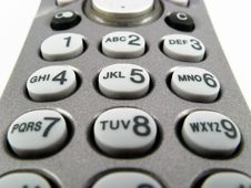 Free Telephone Keypad Dial Buttons Royalty Free Stock Photography - 4848167
