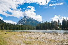 Free Lake In Banff Stock Image - 4848841