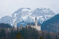 Free Castle Neuschwanstein Royalty Free Stock Photography - 4849127