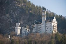Free Castle Neuschwanstein Royalty Free Stock Images - 4849129