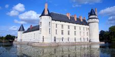 Free Chateau And Moat, France Stock Photography - 4849342