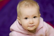 Free Young Baby Girl Stock Images - 4849684
