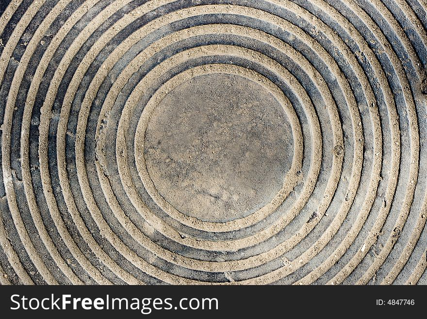 Cost-iron manhole
