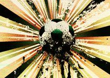Free Grunge Soccer Stock Image - 48418751