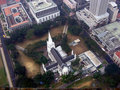 Free Singapore. View Overlooking A Cathedral Stock Images - 4850844